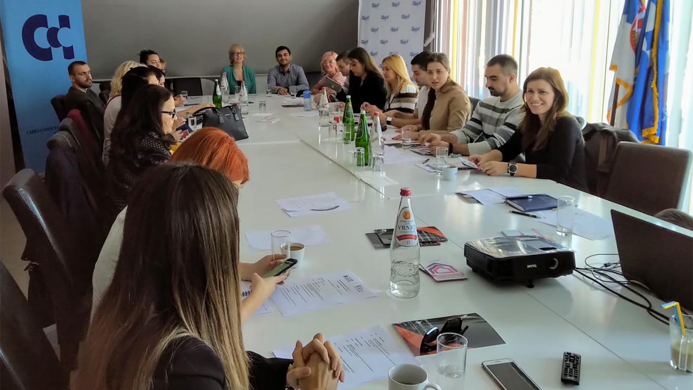 "About The Project ""Rights At Work, Work On Rights"" With Representatives Of The Confederation Of Autonomous Trade Unions Of Serbia"