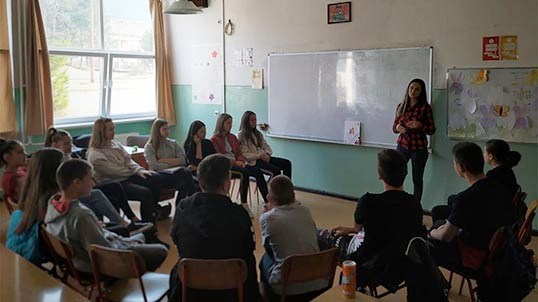 Face To Face With Local Administration – Peer Educators In Action