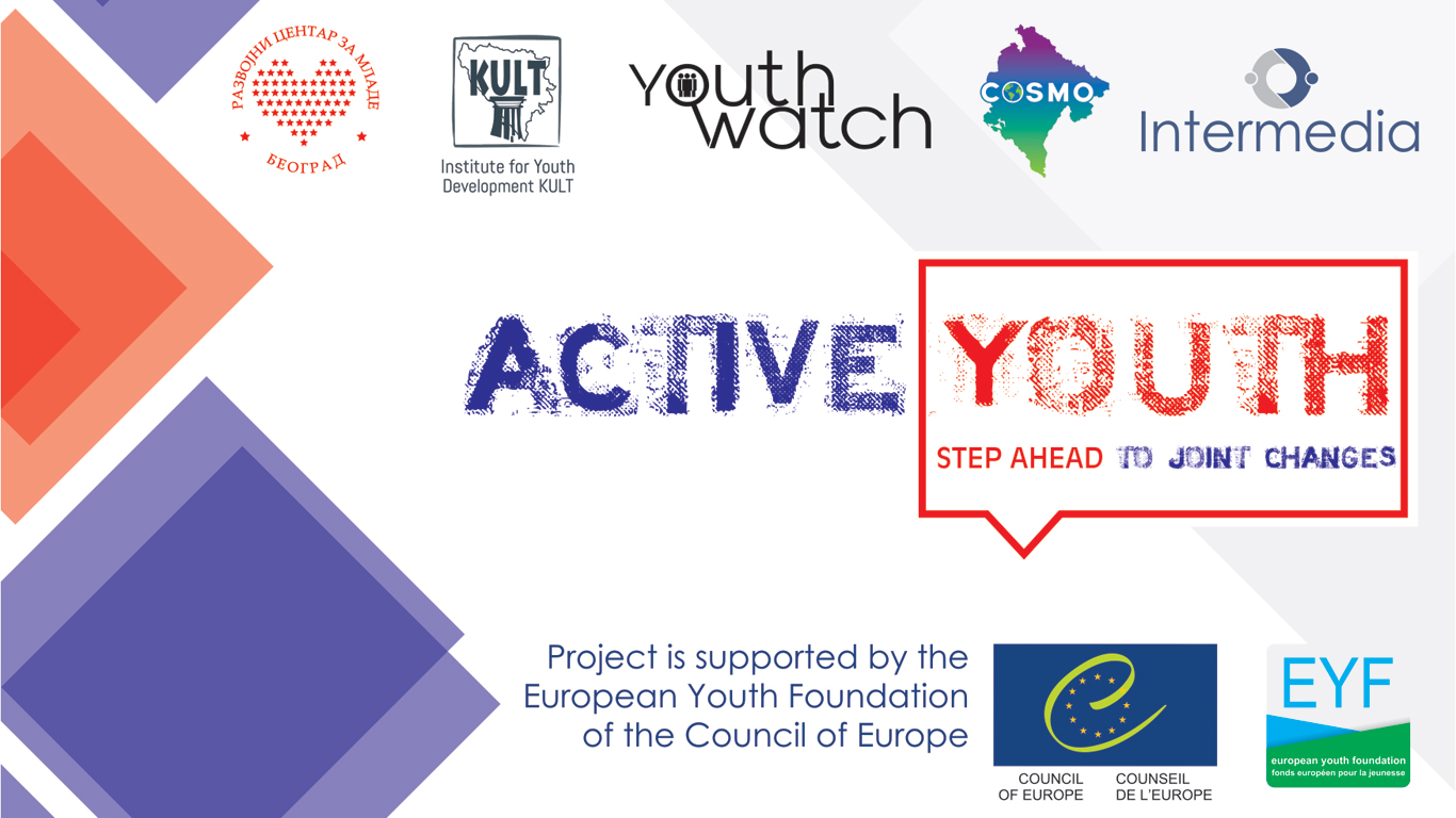 Call For Participants: Active Youth – Step Ahead To Joint Changes