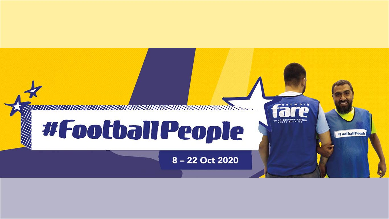 We Promote Human Rights Through Football With Support Of The FARE Network