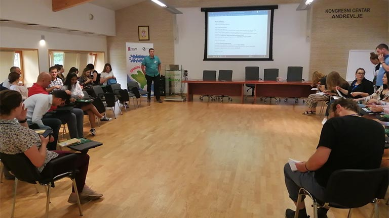 "Development Center For Youth – Participant Of The Conference ""Erasmus+ Opening The Doors"""
