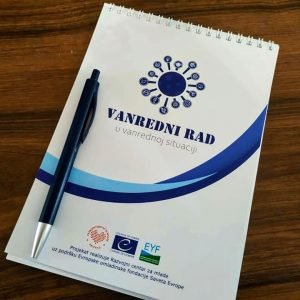 Razvojni Centar Za Mlade Vanredni Rad Vanredna Situacija 7