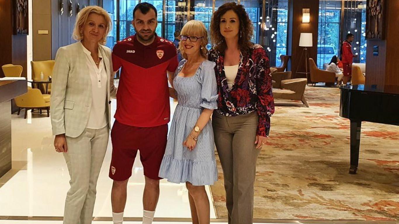 Creating The Life Champions: Support From The Ambassador Goran Pandev Before Upcoming Camp At Zlatibor