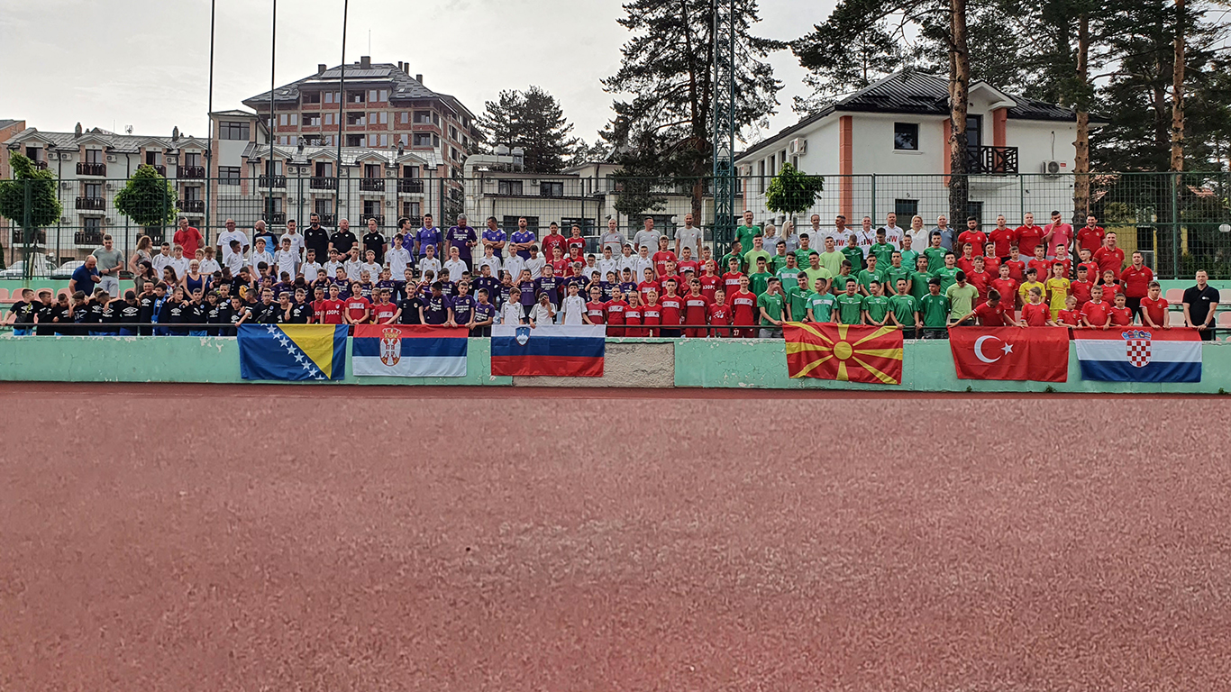 "The First Generation Of 150 ""life Champions"" Left Zlatibor"