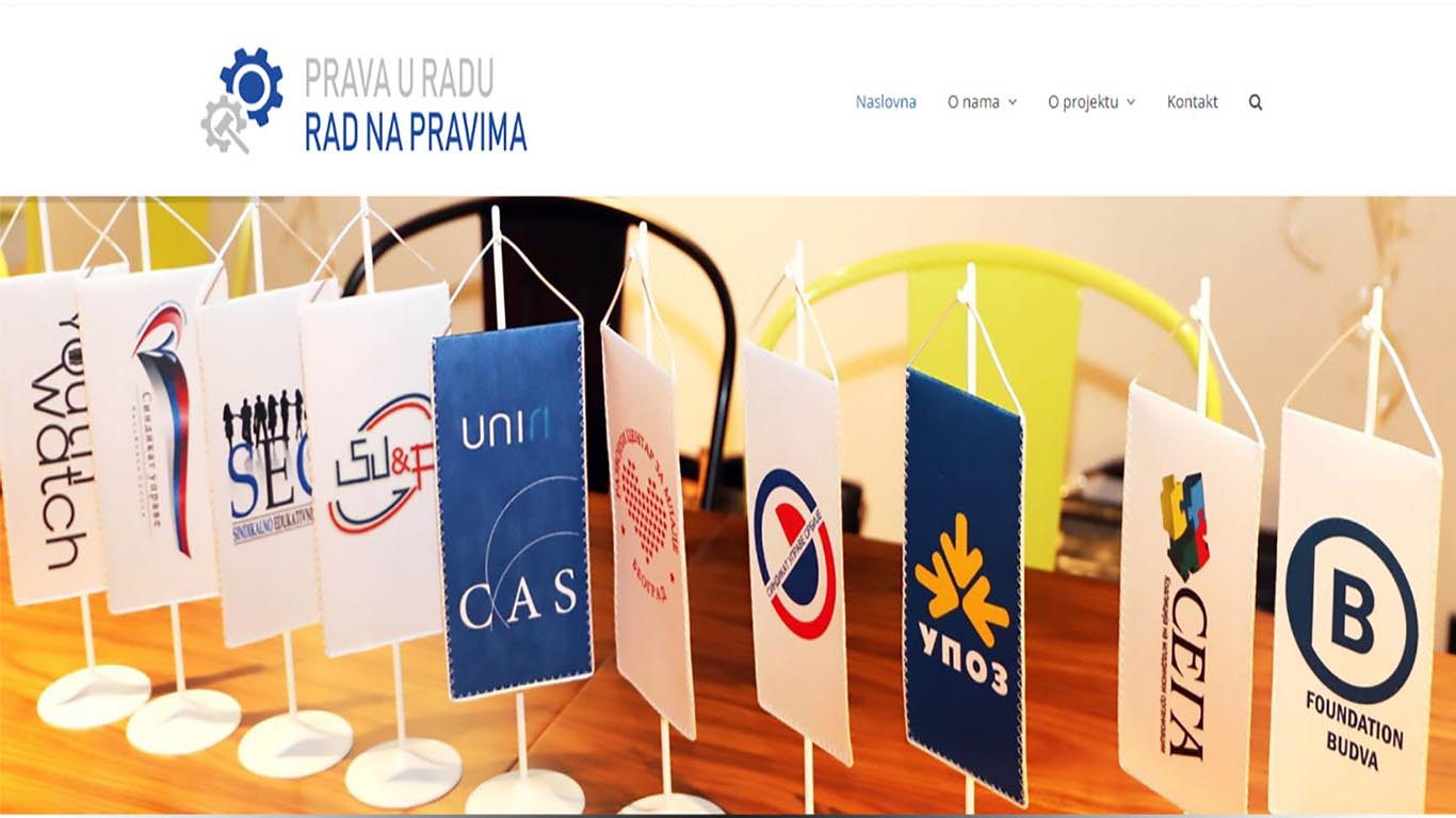 "Website Of The Project ""Rights At Work, Work On Rights"" Officially Launched"