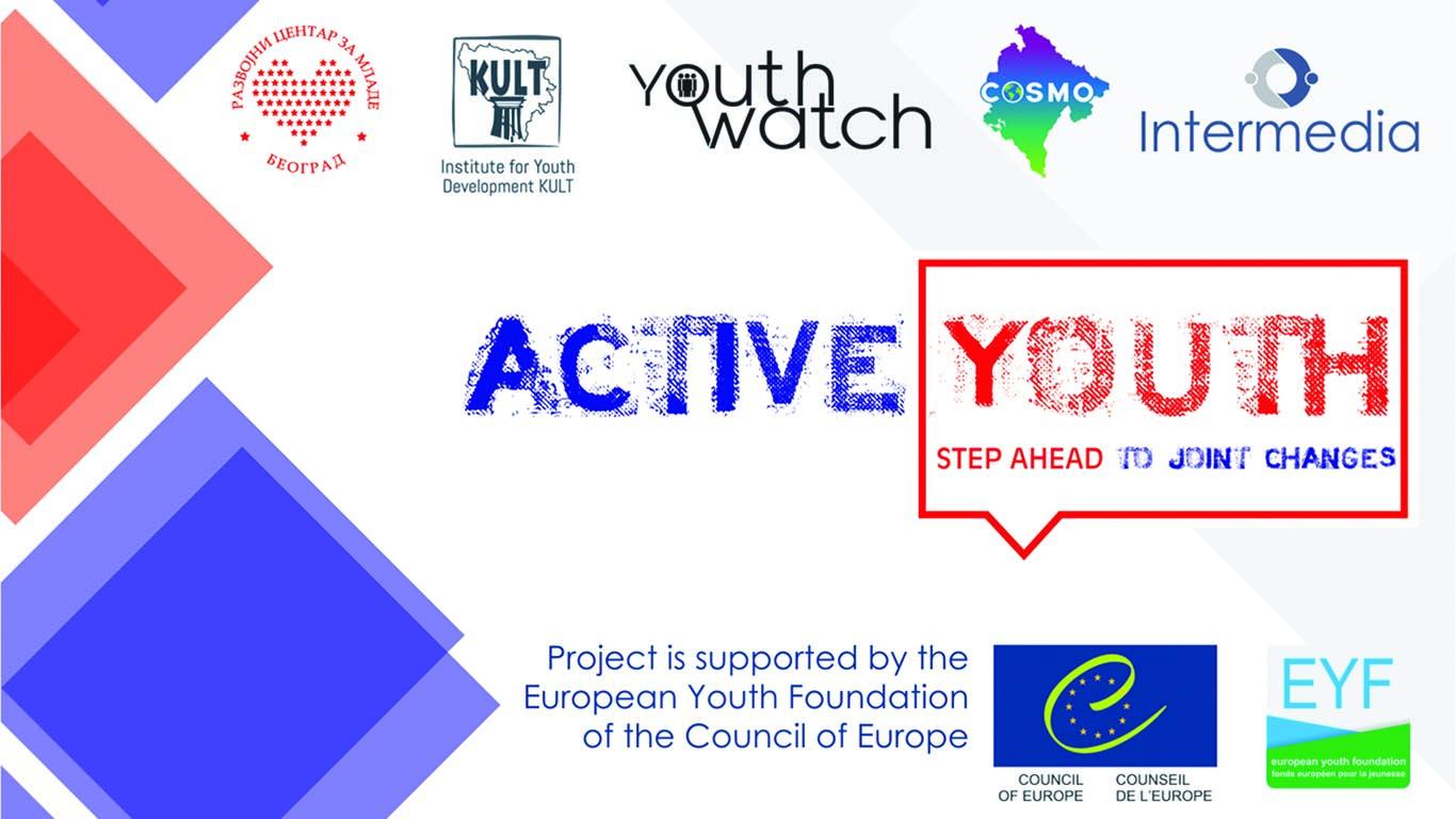 """Објављена завршна публикација у склопу пројекта """"Активни млади-корак ка заједничким променама"""""""