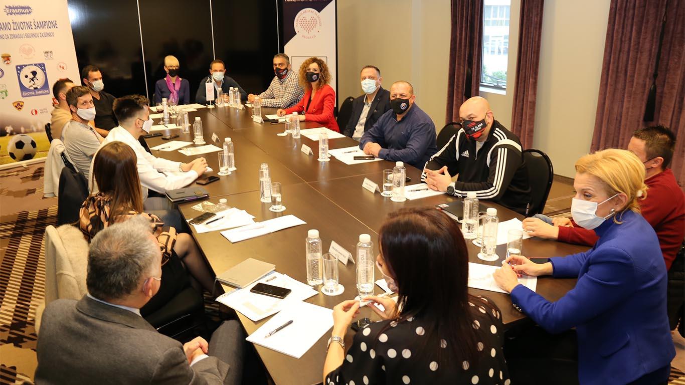 """Одржан иницијални састанак конзорцијума на пројекту """"Заједно за здравију и сигурнију заједницу"""""""