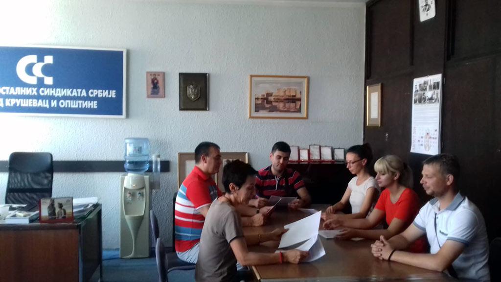 Радионица о радним правима одржана и у Крушевцу